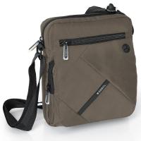 Сива чанта за рамо Twist