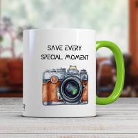 Чаша за кафе с печат