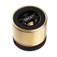 Безжична портативна bluetooth колонка WOOFit, brass