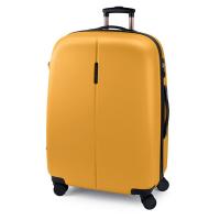 Свеж жълт голям куфар 77см Gabol Paradise