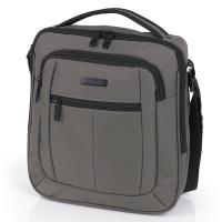 Голяма сива чанта с дръжка за през рамо Gabol Gear, 27см