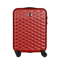 Червен куфар за ръчен багаж Wenger Lumen Hardside Luggage 20'' Carry-On