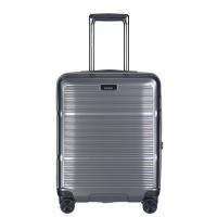 Куфар за ръчен багаж в стилен сив цвят 55см Puccini Vienna