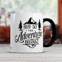 Чаша за кафе с надпис