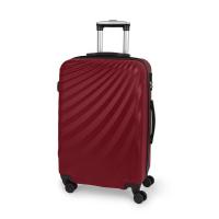Червен куфар среден размер на четири колела Gabol Royal 67см