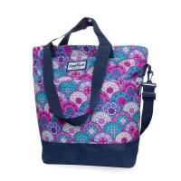 Свежа чанта за през рамо в лилаво и розово CoolPack Soho Pastel Orient