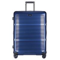 Твърд син куфар поликарбонат с модерен дизайн и разширение Puccini Vienna