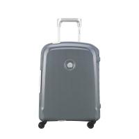 Сив куфар полипропилен със закопчалка за ръчен багаж Delsey Belfort Plus 55см