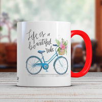 Керамична чаша за кафе в различни цветове