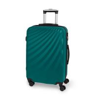 Твърд куфар среден размер в цвят тъмен тюркоаз Gabol Royal 67см