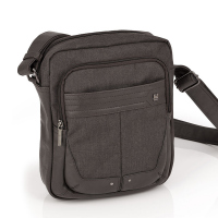Стилна мъжка чанта в кафяво Gabol Pekin 24см