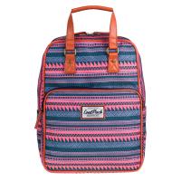 Раница и чанта в синьо и розово CoolPack Cubic Sahara