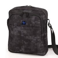Чанта за през рамо 25см Gabol Sound в черно и сиво