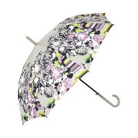 Пъстър дамски автоматичен чадър на цветя Perletti Chic, дизайн 2