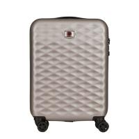 Сребрист куфар за ръчен багаж Wenger Lumen Hardside Luggage 20'' Carry-On