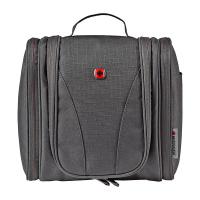 Черна чанта за тоалетни принадлежности за път Wenger Accessories Pouch