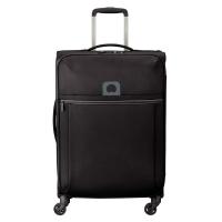 Олекотен куфар среден размер Delsey Brochant 67см, черен