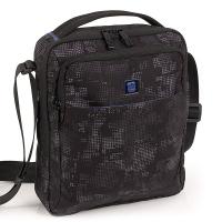 Голяма чанта за през рамо Gabol Sound, черно-сива