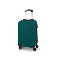 Малък куфар в тъмен тюркоаз Gabol Royal 57см ABS пластмаса