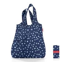 Торба за пазаруване Reisenthel Mini maxi shopper, тъмносиня на точки
