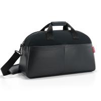 Голяма луксозна черна пътна чанта Reisenthel Overnighter