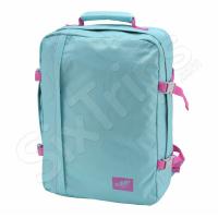 Свежа дамска раничка и пътна чанта за ръчен багаж Cabin Zero, светъл тюркоаз и розово