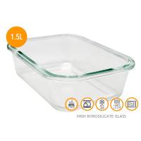 Херметическа стъклена кутия за храна Vin Bouquet 1.5л