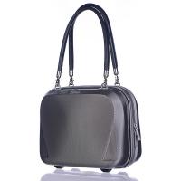 Сива твърда пътна чанта Puccini London 20л за ръчен багаж