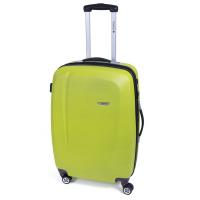 Яркозелен куфар среден размер Gabol Line 68см
