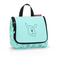 Детска чанта за принадлежности със закачалка Reisenthel Toiletbag S kids, цвят мента