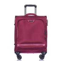 Малък куфар за ръчен багаж с джоб за лаптоп Puccini Copenhagen, червено вино