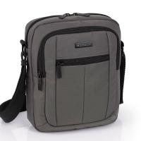 Чанта за през рамо с две отделения в сиво Gabol Gear
