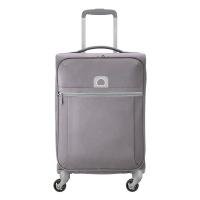 Сив олекотен мек куфар Delsey Brochant 55см