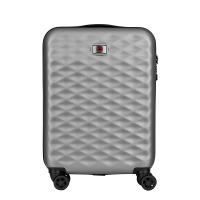 Сив куфар за ръчен багаж Wenger Lumen Hardside Luggage 20'' Carry-On