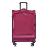 Стилен куфар среден размер Puccini Copenhagen, червено вино