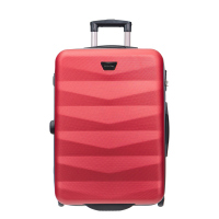 Червен куфар ABS среден размер на две колела Puccini Majorca