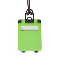 Етикет за багаж куфарче Taggy, яркозелен