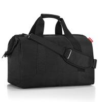 Черна голяма изискана чанта за пътуване Reisenthel allrounder L