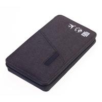 Практичен тъмносив RFID портфейл за документи за пътуване и паспорт Troika - Cargosafe