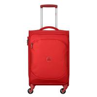 Мек червен куфар Delsey U-Lite classic 2, 55см