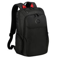 Черна раница за малък лаптоп Delsey Parvis Plus 13.3