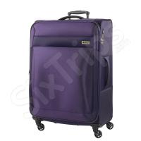 Текстилен куфар в лилаво Titan Royal 101л
