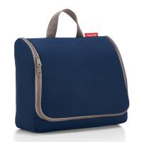 Тъмносиня чанта за тоалетни принадлежности за път със закачалка Reisenthel Toiletbag XL