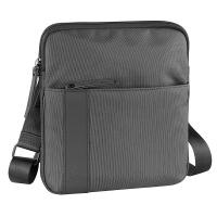 Черна мъжка чанта за рамо Bugatti Domani