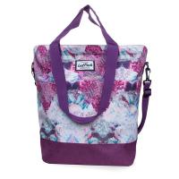 Лилава Дамска чанта за през рамо CoolPack Soho Dream Clouds