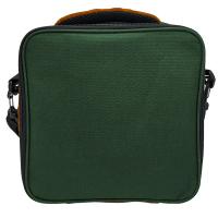 Термоизолираща зелена чанта за храна Vin Bouquet Nerthus с два джоба