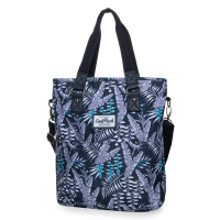 Дамска чанта на лилави цветя CoolPack Amber Palms, полиестер
