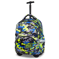 Детска раница на колела CoolPack Starr Camo Fusion Yellow