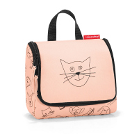 Детска чантичка за принадлежности в цвят роза Reisenthel Toiletbag S kids