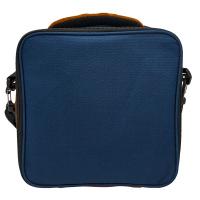 Термоизолираща синя чанта за храна Vin Bouquet Nerthus с два джоба